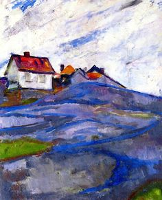 The House in the Skerries Edvard Munch