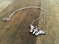 A personal favorite from my Etsy shop https://www.etsy.com/listing/237119469/antique-rhinestone-silver-necklace