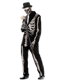 Gentleman Skelett Kostüm maskworld.com