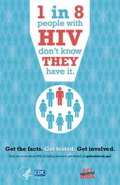June is HIV testing day. More than 90 percent of new HIV cases in the U. could be prevented by testing, according to the Centers for Disease Control (CDC). Hiv Images, Hiv Facts, Aids Poster, People With Hiv, Hiv Prevention, Aids Day, Aids Awareness, Hiv Positive, School Health
