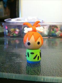 Polymer clay Chibi doll