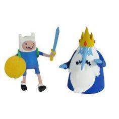 Fin & Ice king figurines