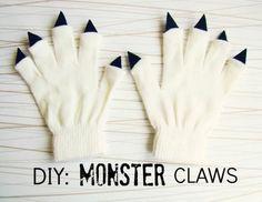 儿童DIY,手工制作万圣节怪物爪子手套|微刊 - 悦读喜欢