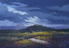 Drifting Storm Pastel - 80x100cms