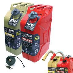 Pro Quip Super Can Unleaded and Diesel Image Chevy Silverado Accessories, Ford F150 Accessories, Jeep Wrangler Accessories, Truck Accessories, Atv Trailers, Restoration Shop, Ammo Cans, Bug Out Vehicle, Jerry Can