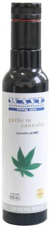 Garlic in cannabis   Síla z konopí