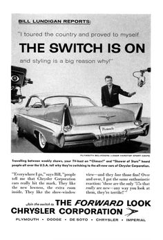William Lundigan and the 1957 Plymouth