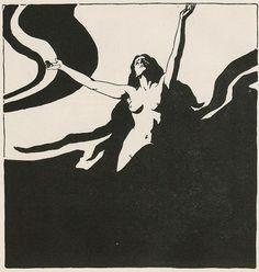 "Ernst Stöhr (1860-1917), Illustration pour la Revue ""Ver Sacrum"" - 1898"