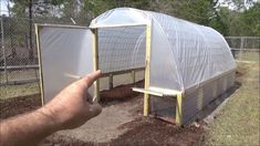 Build Your Own Greenhouse Diy Greenhouse Plans, Simple Greenhouse, Greenhouse Supplies, Large Greenhouse, Greenhouse Effect, Backyard Greenhouse, Hoop House Chickens, Automatic Watering System, Urban Heat Island
