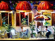 PARIS OF MY DREAMS cityscape painting