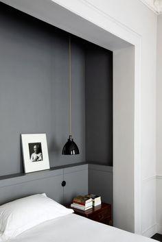 VINTAGE & CHIC: decoración vintage para tu casa · vintage home decor: Un apartamento perfecto en París (de suelos negros) · A perfect apartment in Paris (with black flooring)
