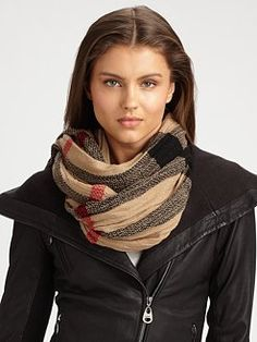 Burberry scarf @Helen Katherine