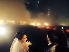 The wedding of Anna Netrebko and Yusif Eyvazov 12.29.2015