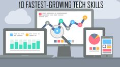 10 fastest-growing tech skills
