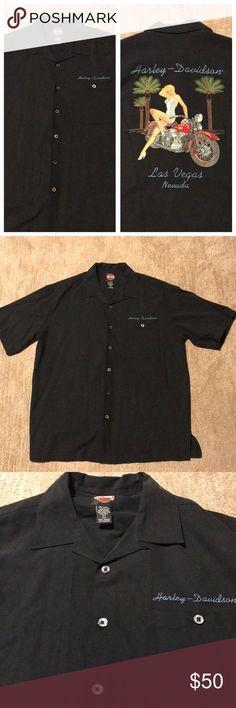 Harley-Davidson Button Up Shirt Men's Harley-Davidson Button up shirt. Size large Harley-Davidson Shirts Casual Button Down Shirts