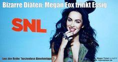"""Um schlank zu bleiben, wird von """"Transformer""""-Star Megan Fox berichtet, sie trinke Apfelessig."""