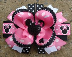 I would not do Minnie Mouse...but the bow is cute.