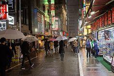 Tokyo rain 2014