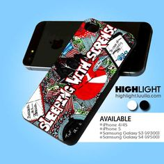 Sleeping With Sirens Cover Fanart case for iPhone 4/4S/5 iPod 4/5 Galaxy S2/S3/S4