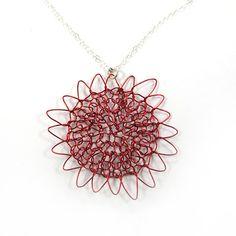 SariGlassman  Hot Wild Sunshine Knitted Necklace by SariGlassman, $39.00