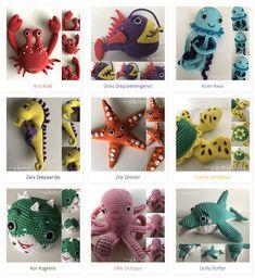 Easy Crochet Patterns, Amigurumi Patterns, Crochet Fish, Holiday Crochet, Free Pattern, Aquarium, Dinosaur Stuffed Animal, Christmas Ornaments, Holiday Decor