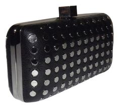MILLY Studded Minaudire Black Clutch. Get the trendiest Clutch of the season! The MILLY Studded Minaudire Black Clutch is a top 10 member favorite on Tradesy. Save on yours before they are sold out!