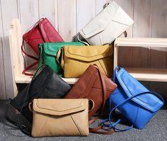 Ebay Hot Épaule Pure Couleur Femmes Corss Body Bag Loisirs Messenger Bag Goût De