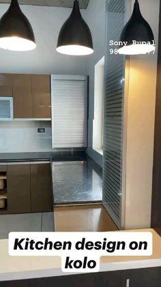 Luxury Kitchen Design, Kitchen Room Design, Kitchen Cabinet Design, Kitchen Interior, Diy Kitchen, Kitchen Storage, Kitchen Ideas, Interior Ceiling Design, Office Interior Design