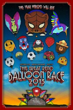Great Reno Balloon Race Event | great reno balloon race is the largest free hot air ballooning event ...