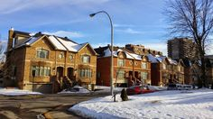 Cote St Luc Real Estate Semi Detached Newer Home Construction  Photo by Bonnie Meisels - http://realestatemontreal.net