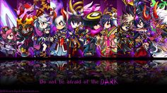 Brave Frontier Dark Units Wallpaper by fickleheartedgeek.deviantart.com on @deviantART