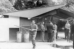 1960-as évek. Füttyös Gyuri a városi legenda.