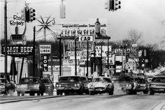 Woodward Avenue, 1970.