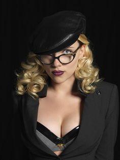 Scarlett Johansson actriz, modelo y cantante