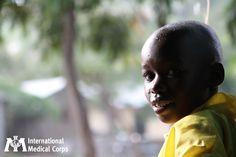 November 11:  A warm smile from Nyanza Province, Kenya. Photo: Jaya Vadlamudi, International Medical Corps, Kenya 2011