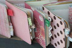 Custom Tiny Junk Journal with Vintage Ephemera