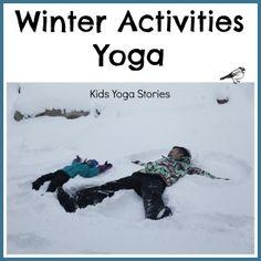 Winter Activities Yoga by Kids Yoga Stories
