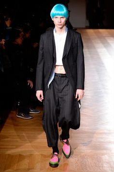 Comme des Garçons Homme Plus showed its Fall Winter 2017 collection during  Paris Fashion Week 1890e707460