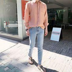 Korean Fashion Men, Korean Street Fashion, Ulzzang Fashion, Korea Fashion, Asian Fashion, Boy Fashion, Mens Fashion, Outfit Grid, Summer Fashion Outfits
