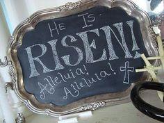 ''Ele ressucitou! Aleluia! Aleluia!'' #Ressureicao #JesusCristo #Pascoa