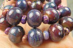 Into the Fire Lampwork Art Beads ~BoHo Gypsy~ Artist handmade glass beads SRA