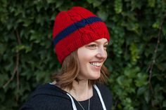 Ravelry: Helping Haiti Hat pattern by Robyn Devine