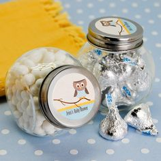 owl baby shower favors