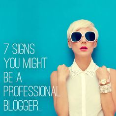 Just because you're not blogging full time, doesn't mean you're not a professional blogger.