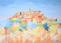 The Art World directory of artists from France features French artist Jeannette Johnston. French Paintings, Palette Knife, French Artists, Art World, Color Trends, Around The Worlds, Gallery, Painters, Photography