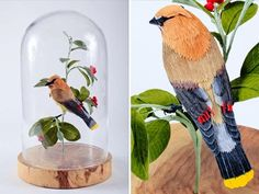 Vegan Taxidermy constructs critters out of crepe paper, wire, styrofoam and papier mache and they're almost as convincing as the real thing.