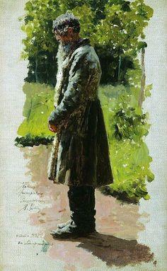 Старый крестьянин. 1885. Илья Ефимович Репин