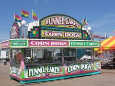 What is your favorite concession stand food? We are considering opening up a concession stand, you feedback is appreciated? Carnival Food, School Carnival, Carnival Rides, Carnival Birthday, Concession Stand Food, Concession Trailer, Food Trailer, Summer Fair, Abandoned Cities