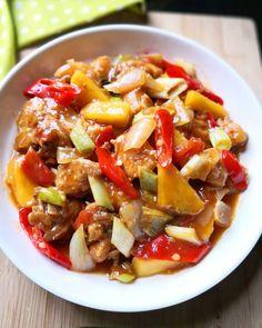 Resep ayam asam manis © 2020 Instagram/@maybelin_ma ; Instagram/@mrs.wijaya Pork, Food And Drink, Ethnic Recipes, Sweet, Instagram, Kale Stir Fry, Pork Chops