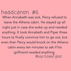 Percy Jackson is rewarded with the best boyfriend award yet again!